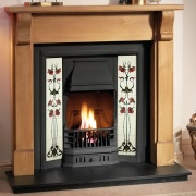 Gallery Bedford Wooden Fireplace (Prince)