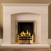 Gallery Cartmel Portuguese Limestone Fireplace Suite