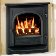 Gazco Logic HE Stockton Balanced Flue Convector Gas Fire