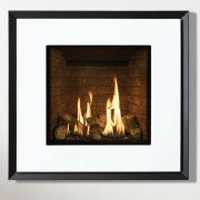Gazco Riva2 530 Evoke Glass Gas Fire