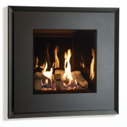 Gazco Riva2 530 Evoke Steel Balanced Flue Gas Fire