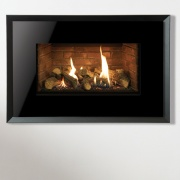 Gazco Riva2 670 Evoke Glass Balanced Flue Gas Fire