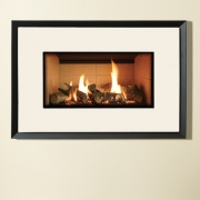 Gazco Riva2 670 Evoke Steel Balanced Flue Gas Fire