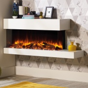 Gazco eReflex 110W Trento Wall Mounted Electric Fireplace Suite