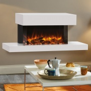 Gazco eReflex 70W Trento Wall Mounted Electric Fireplace Suite