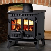 Hunter Herald 6 Double Sided Wood Burning & Multi-Fuel Stove