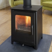 Mendip Loxton 8 Double Sided Multi-Fuel Stove