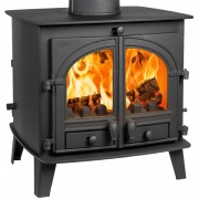 Parkray Consort 7 Double Sided Wood Burning / Multi-Fuel Stove
