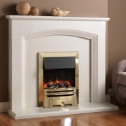 Pureglow Ashton Marble Fireplace