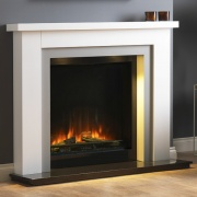 Pureglow Hanley with Chelsea 750 Electric Fireplace Suite