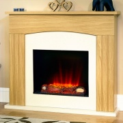 Suncrest Linderwell Electric Fireplace Suite